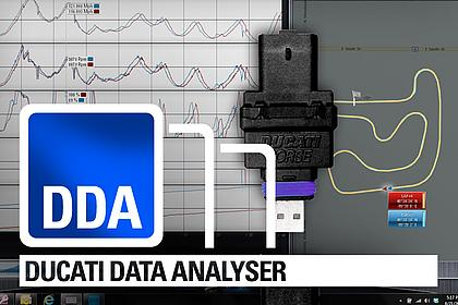 DUCATI DATA ANALYSER - Präzises Datarecording durch GPS Technologie!