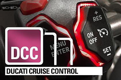 DUCATI CRUISE CONTROL - Entspannt on Tour!