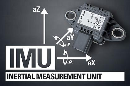 IMU SYSTEM - Inertial Measurement Unit, Hightech von Bosch!