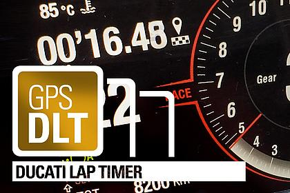 Ducati Lap Timer - Rundenzeiten on Demand - Direkt am Dashboard!