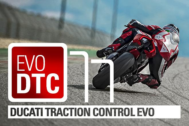 "DUCATI TRACTION CONTROL - Traktionskontrolle mit ""Spin on Demand"" Funktion"